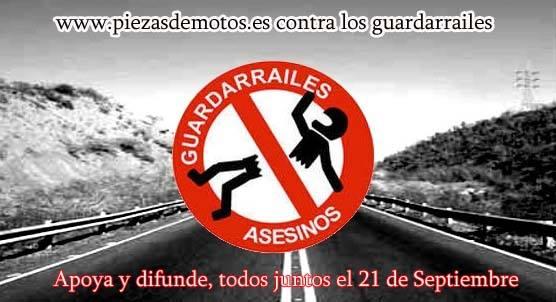 Marcha contra los Guardarraíles Asesinos