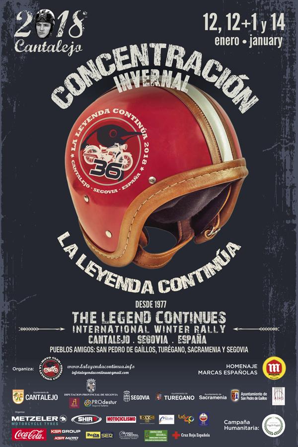 La Leyenda Continúa 2018 12, 13 y 14 de Enero