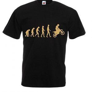 Camiseta Evolución Motera